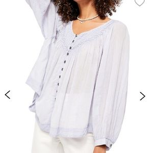 Free People - Lilac blouse